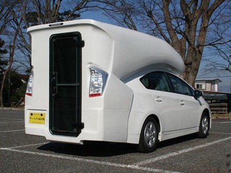 Autocaravana Toyota Prius