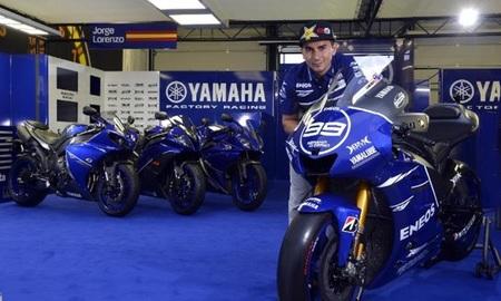 MotoGP San Marino 2012: las Yamaha lucirán una decoración muy especial con el azul como protagonista