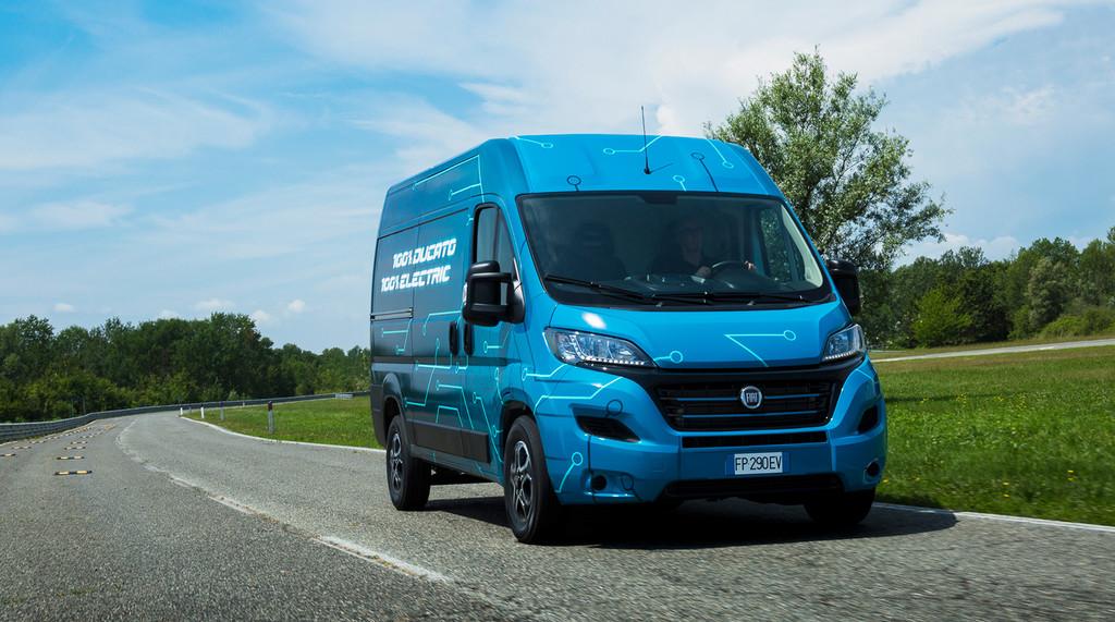 Fiat Ducato Electric: una furgoneta eléctrica que llegará en 2020 con hasta 360 km de autonomía