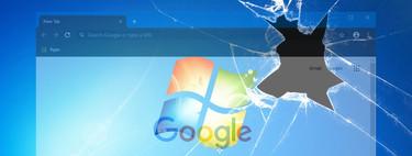 Si usas Chrome y Windows 7 estás expuesto a dos graves vulnerabilidades, Google recomienda actualizar a Windows 10