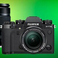 Si buscas chollo fotográfico, en El Corte Inglés tienes la Fujifilm X-T3 por menos de la mitad y con dos objetivos a precio de cuerpo: 1.099 euros con 18-55mm + 55-200mm