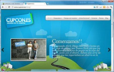 Cupoon.es, cupones de descuento a la vieja usanza. A fondo