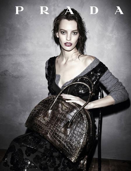 Visuales de la nueva campaña de Prada para el otoño 2013