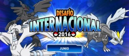 Acepta el reto Pokémon en el Desafío Internacional Junio 2016