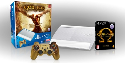 Nuevo pack de PS3 blanca con 'God of War: Ascension' en camino