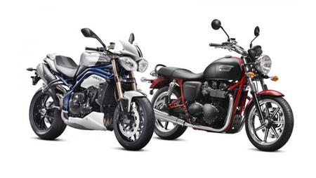 Dos nuevas versiones de Triumph llegan al mercado