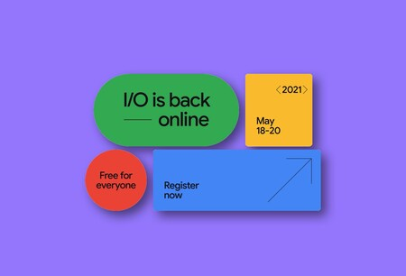 Google I/O vuelve el 18 de mayo: el evento para desarrolladores será virtual y completamente gratuito