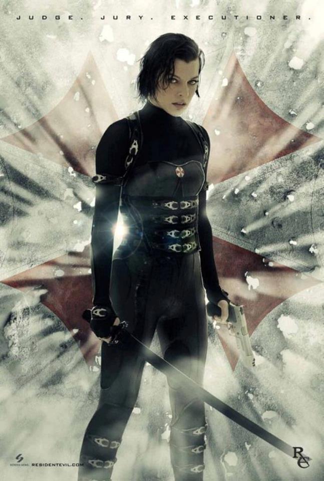 Foto de Nuevos carteles de 'Resident Evil: Venganza' (30/35)
