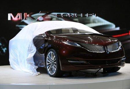 Lincoln MKZ Concept, desvelado en Detroit