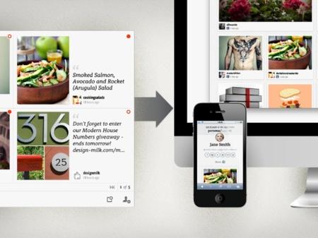 persona/ una aplicación con la que compartir y disfrutar lo que nos interesa en internet