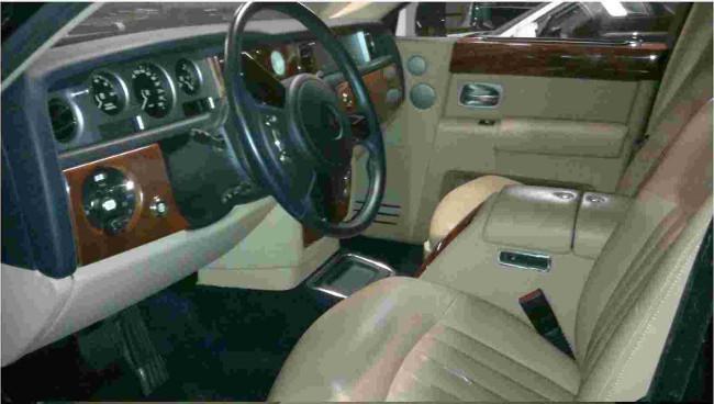 Rolls-Royce Phantom puesto a subasta