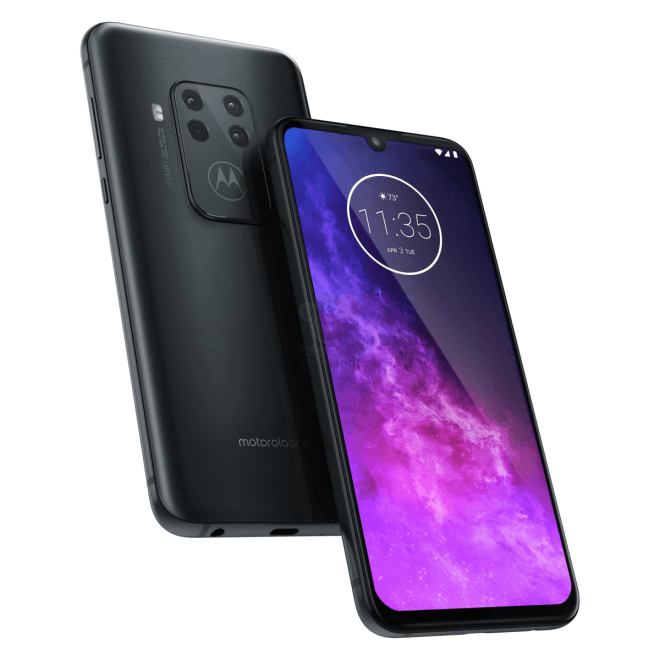 The leaked images of the Motorola One Zoom reveal camera quad screen and 5x zoom without loss