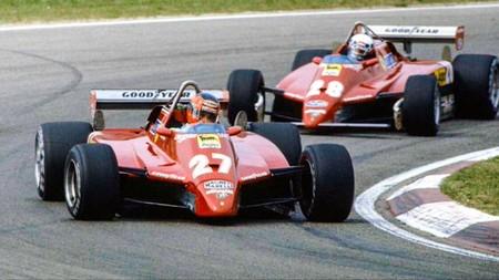 Villeneuve Pironi Formula 1 1982