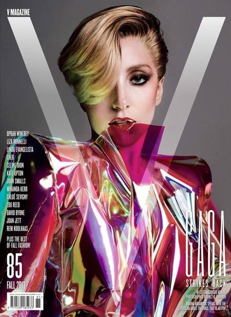 ¿Sólo dos portadas de V Magazine para Lady Gaga? ¡Ni de broma!