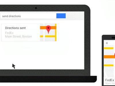 Google nos permitirá enviar direcciones desde el buscador del PC a nuestro Android