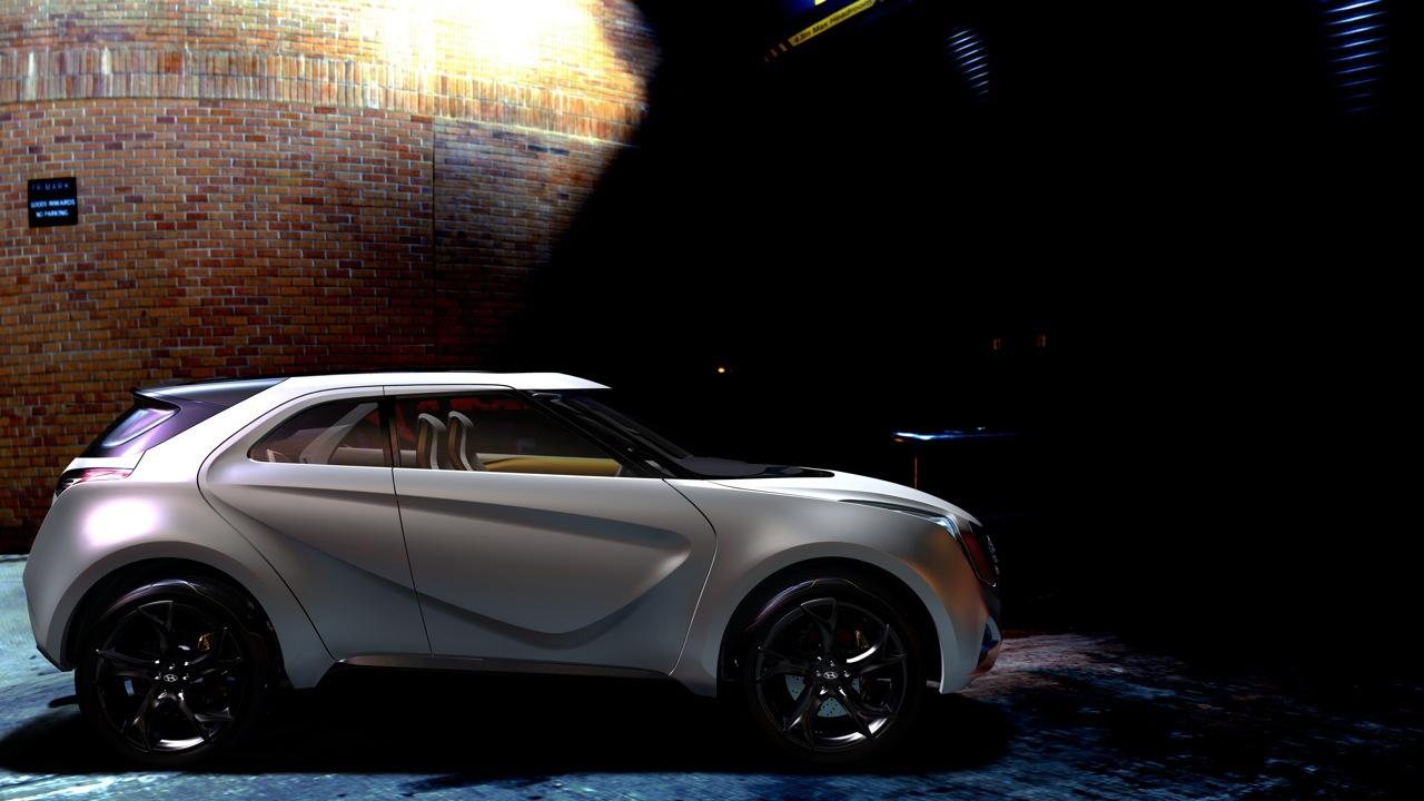 Foto de Hyundai CURB en el Salón de Detroit (27/29)