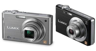Nuevas Lumix FS de Panasonic: con gran angular y zoom óptico 8x LEICA DC