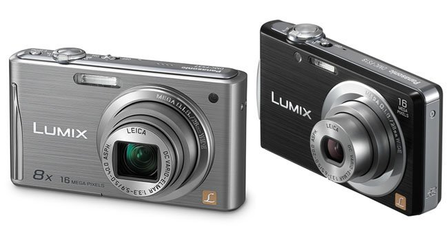Panasonic Lumix DMC-FS37 y FS18