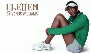 "Venus Williams se pasa a la moda ""barata"""
