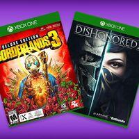 'Borderlads 3' y 'Dishonored 2' para Xbox One de oferta en México: con retrocompatibilidad en Xbox Series X por 200 pesos