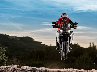 The wild side of Ducati: web exclusiva para la Multistrada maxi enduro