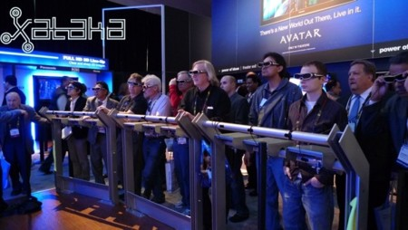 Tipos de gafas 3D en el cine