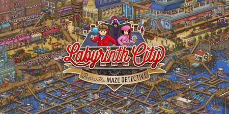 Análisis de Labyrinth City: Pierre the Maze Detective, donde hermosas ilustraciones cobran vida y el humor supera al escaso desafío