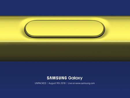 El Samsung Galaxy Note 9 se presentará el 9 de agosto, Samsung confirma su Unpacked de forma oficial
