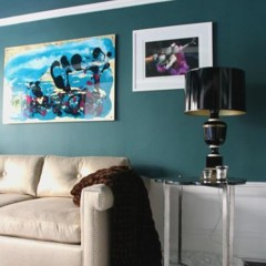 Foto 3 de 6 de la galería un-salon-en-azul en Decoesfera