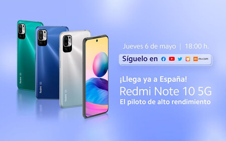 Xiaomi Redmi Note 10S y Redmi Note 10 5G: cómo seguir en directo la presentación de hoy