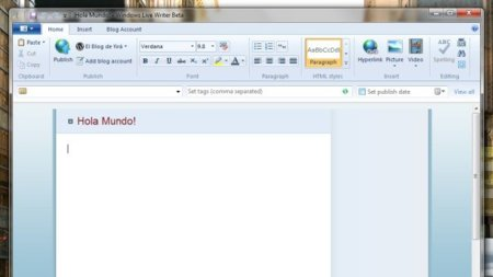 La Ribbon-manía llega a Windows Live Writer
