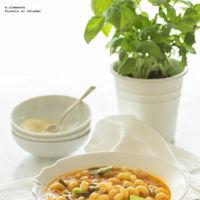 Cómo hacer sopa minestrone. Receta