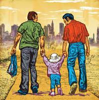 La orientación sexual de los padres adoptivos no influye en el desarrollo emocional de los hijos