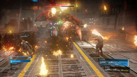 Final Fantasy Vii Remake Escorpion