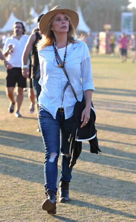 Patricia Arquette Coachella 2013