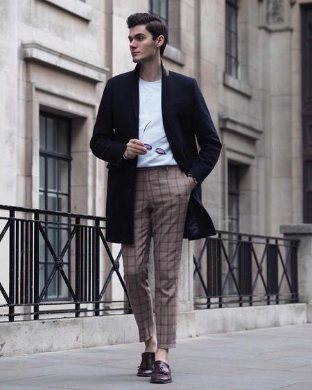 Los Hombres Mas Elegantes De Londres Le Hacen Frente Al Frio Con La Armadura Perfecta El Abrigo 08