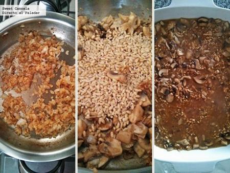 preparacion risotto cebada