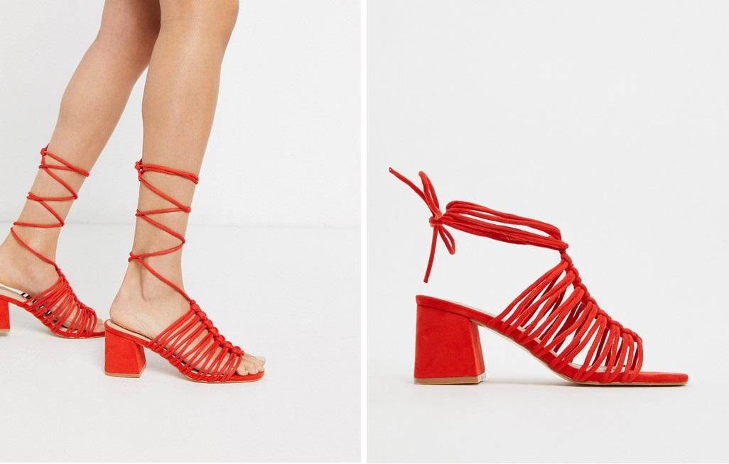 Sandalias con cuerdas trenzadas