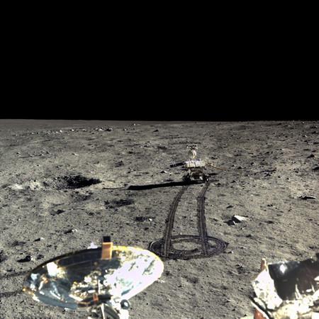 La sonda china Chang'e 4 desvela los secretos del subsuelo lunar en la cara oculta de la Luna tras un año de exploración