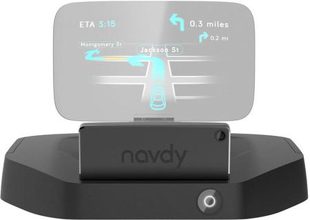 Navdy convierte el smartphone en un HUD, será novedad en 2015