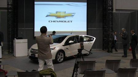 El Chevrolet Volt debuta en Japón