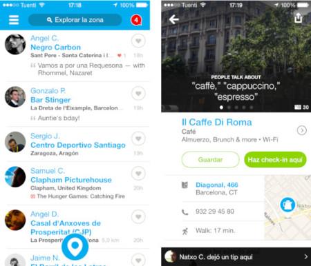 Foursquare 7.0 para iOS: nueva interfaz y notificaciones inteligentes según nuestra localización