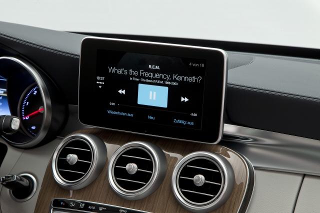 Foto de CarPlay Mercedes Benz Clase C (16/26)