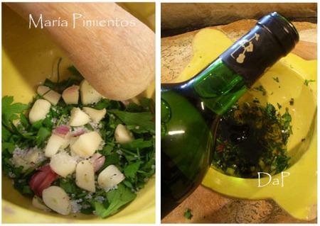 Sepia al horno con patatas