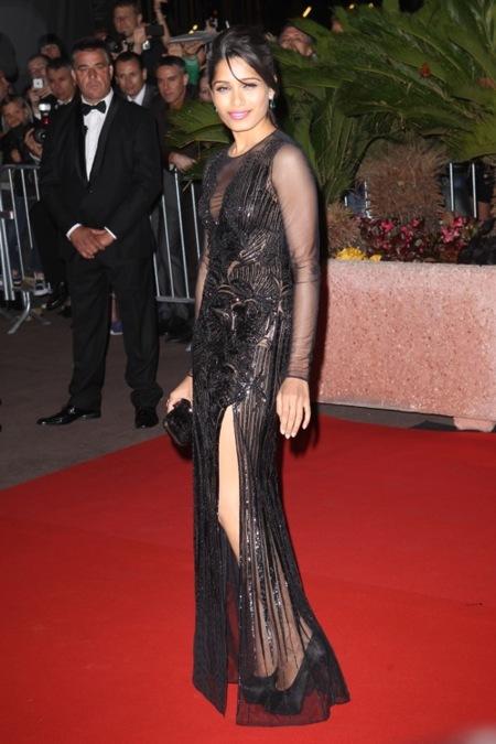 Freida Pinto Festival de Cannes 2012