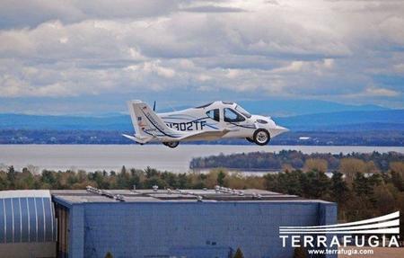 Terrafugia Transitio vuelo