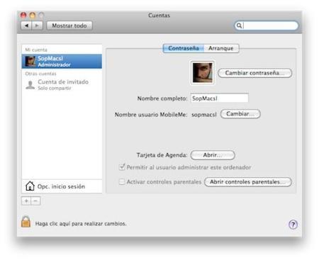 Crea una cuenta root en Mac OS X Snow Leopard
