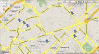 Mapa de laboratorios fotográficos de Barcelona