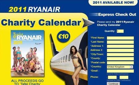 Calendario Ryanair 2011