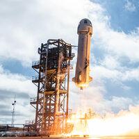 Jeff Bezos volará hoy al espacio en el primer vuelo tripulado de Blue Origin: cómo seguir la misión en directo